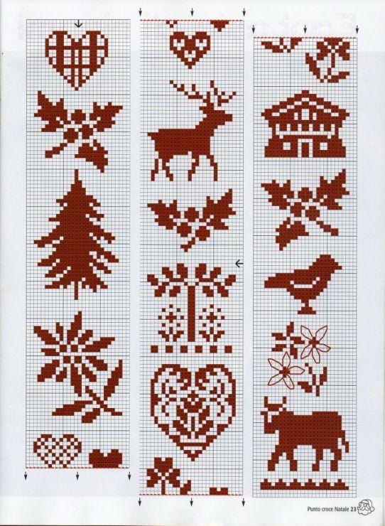 Fair isle   Masker og mønstre   Pinterest   Fair isles, Cross ...