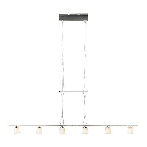 tidig hanglamp met 6 lampen ikea mondgeblazen glas iedere lampenkap is uniek - Tischlampen Ikea