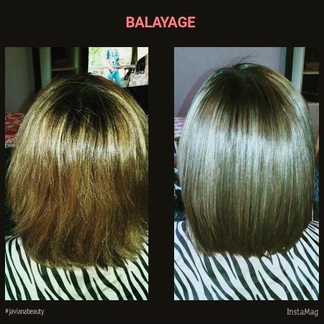 Balayage más Shock Aceite de Argan Morocco hair hairinstagram hairstyle javianabeauty