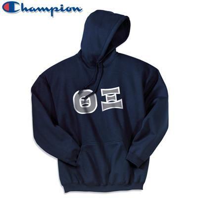52c66e644aa2 Theta Xi Champion Hooded Sweatshirt - Champion S700 - TWILL