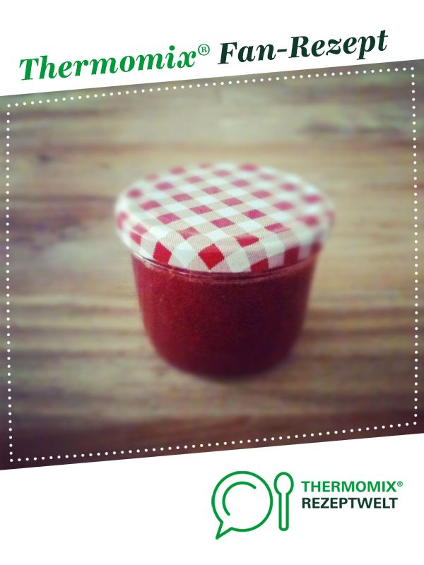 Himbeer-Rhabarber Marmelade