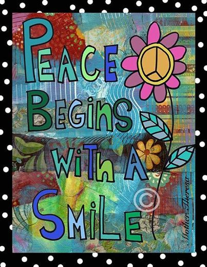 Smile ). And a really good cup of coffee...... Hippie