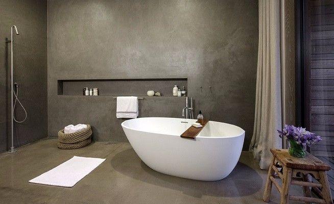 Badkamer pleisterwerk is de nieuwste trend op het gebied van ...