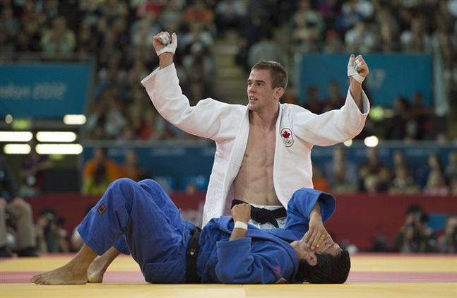 Bronze in Judo for Antoine Valois-Fortier