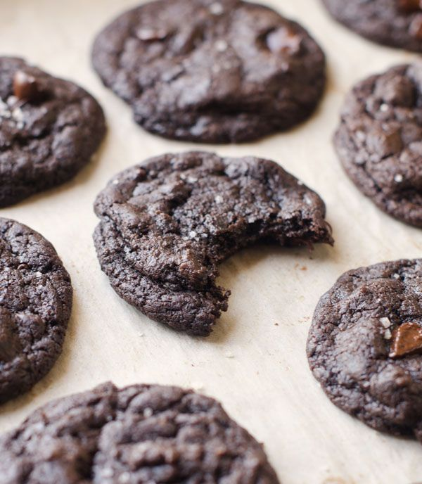Olive Oil Chocolate Cookies (vegan)