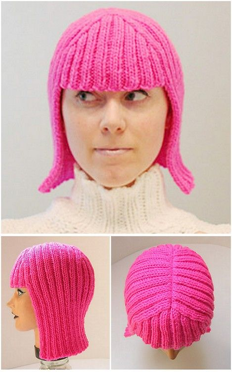 DIY Knit Wig or the Hallowig Pattern by Megan Reardon on... (True ...