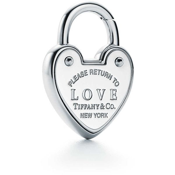 6d1fc8668 Return to Tiffany Love Lock Charm ($300) ❤ liked on Polyvore featuring  jewelry, pendants, tiffany co jewelry, tiffany co jewellery, charm jewelry,  ...