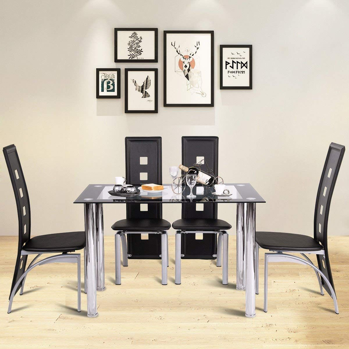 a65ba0b31513 China wholesale 4 legs 12mm thick tempered glass dining table ...