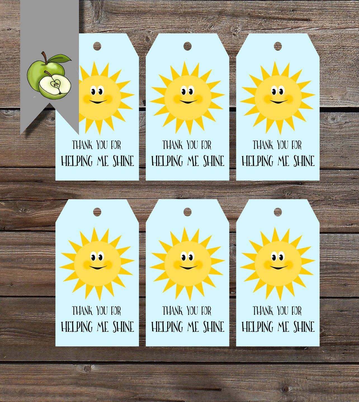 12f6a1816 Shine gift tags
