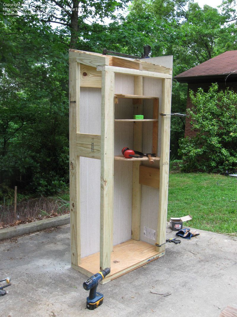 Photo Of We Built A Small Auxiliary Tool Shed