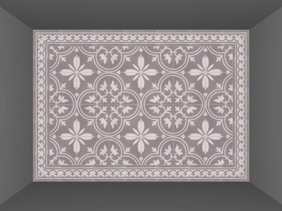 Florence Badkamer Plafond : Portugese cementtegels florence flower interieur