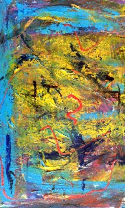 Astratto pregio cozzani dipinto espressionismo astratto