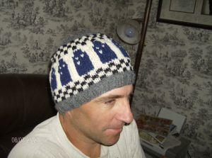 Tardis hat for Andrew