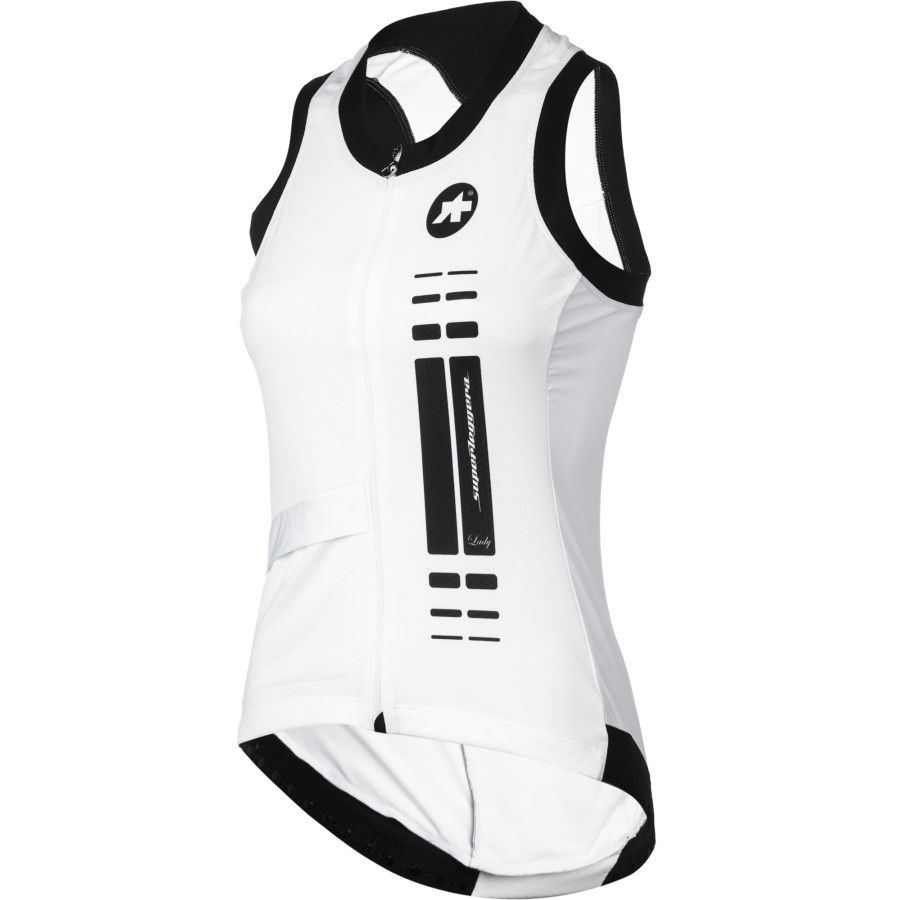 Assos jersey - with blue back.