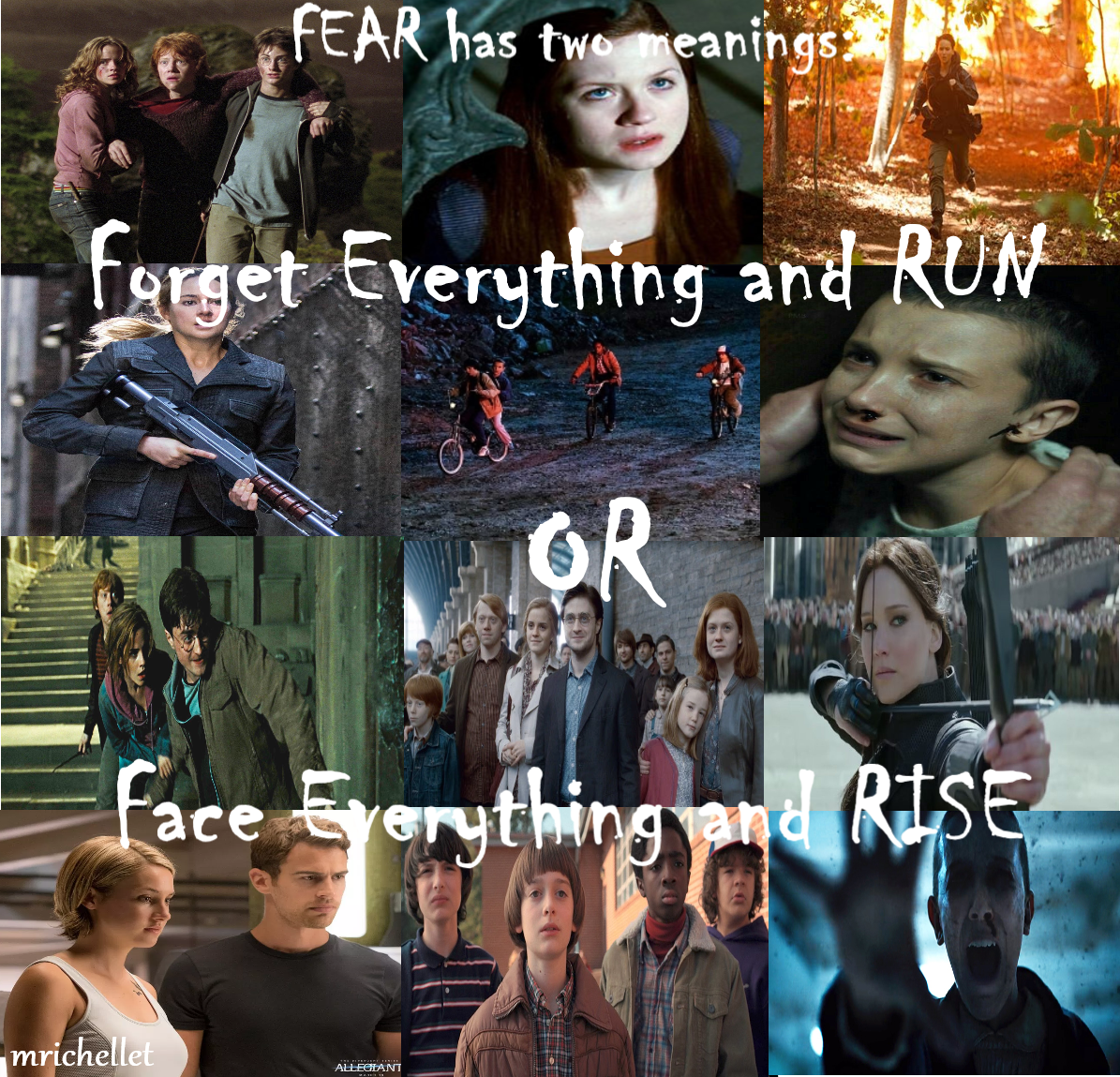 Hp Thg St Divergent Made By Mrichellet Hunger Games Quotes Hunger Games Book Fandoms