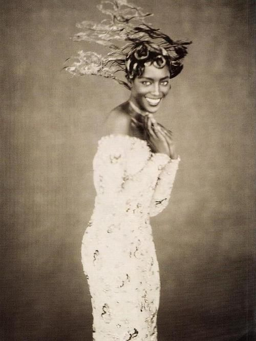 "80s-90s-supermodels: ""Royale"", Vogue Italia, 1996Photographer : Paolo RoversiModel : Naomi Campbell"