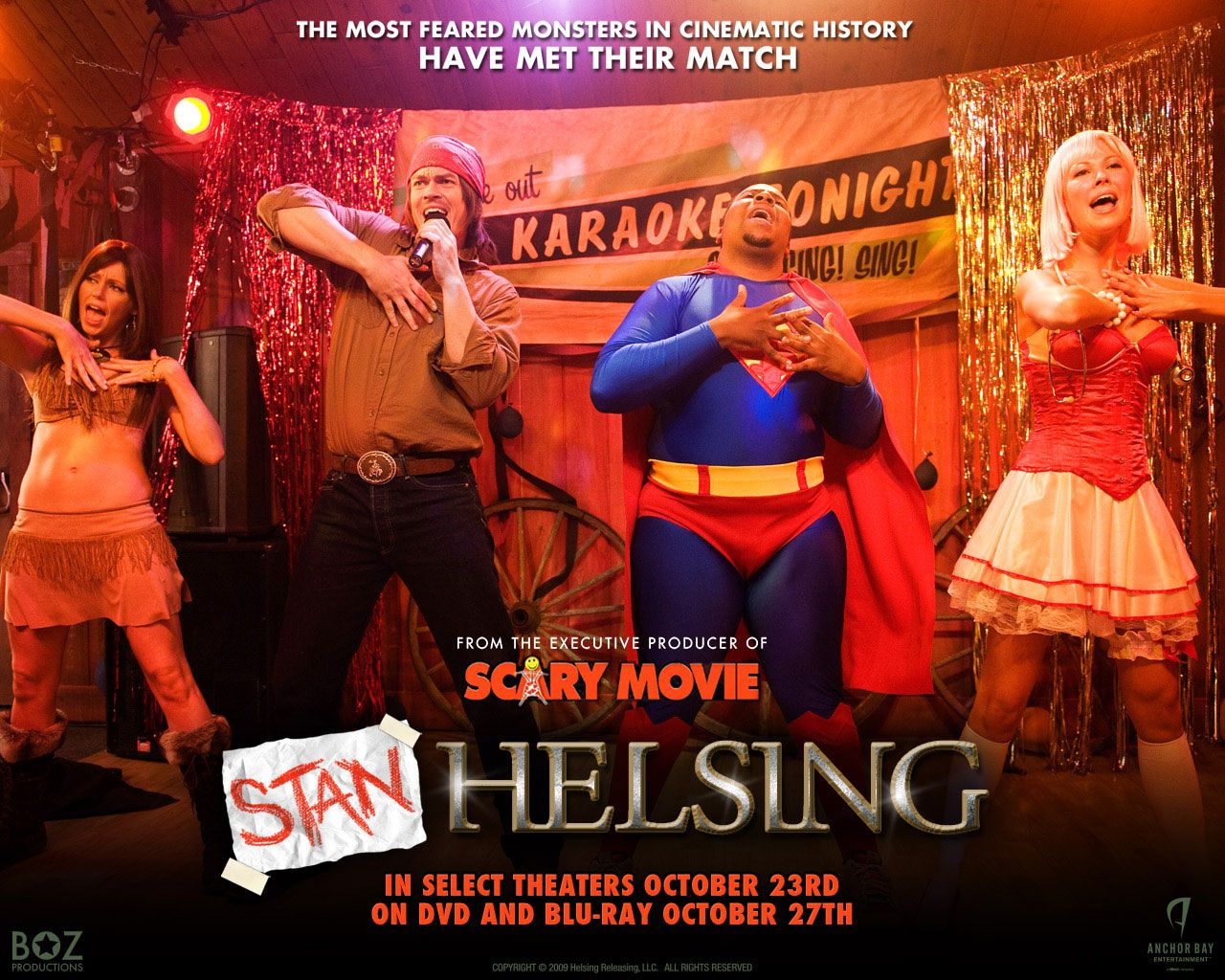 Watch Streaming HD Stan Helsing, starring Steve Howey, Diora Baird, Kenan Thompson, Desi Lydic. It's Halloween night, and slacker video clerk Stan Helsing along with his insanely sexy ex-girlfriend ... #Comedy #Horror http://play.theatrr.com/play.php?movie=1185266
