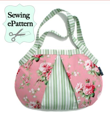 Sew Spoiled's Ladybug Shoulder Bag - PDF Sewing Pattern