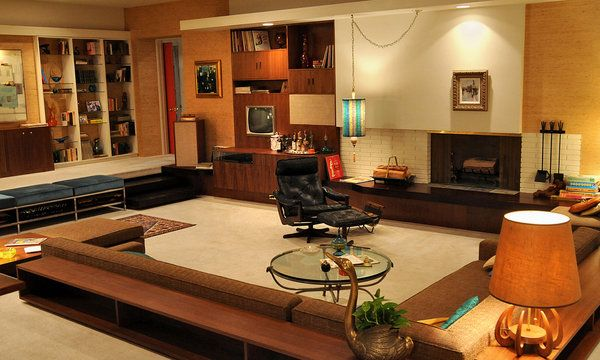 Mad Men's Don Draper's '60's living room inspired by Frank