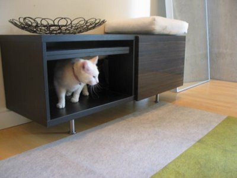 Entry Way Cat Litter Box Furniture IKEA ~ Http://lanewstalk.com/