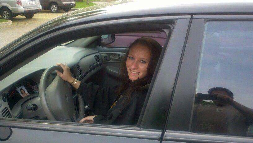 Maiden voyage with her license!