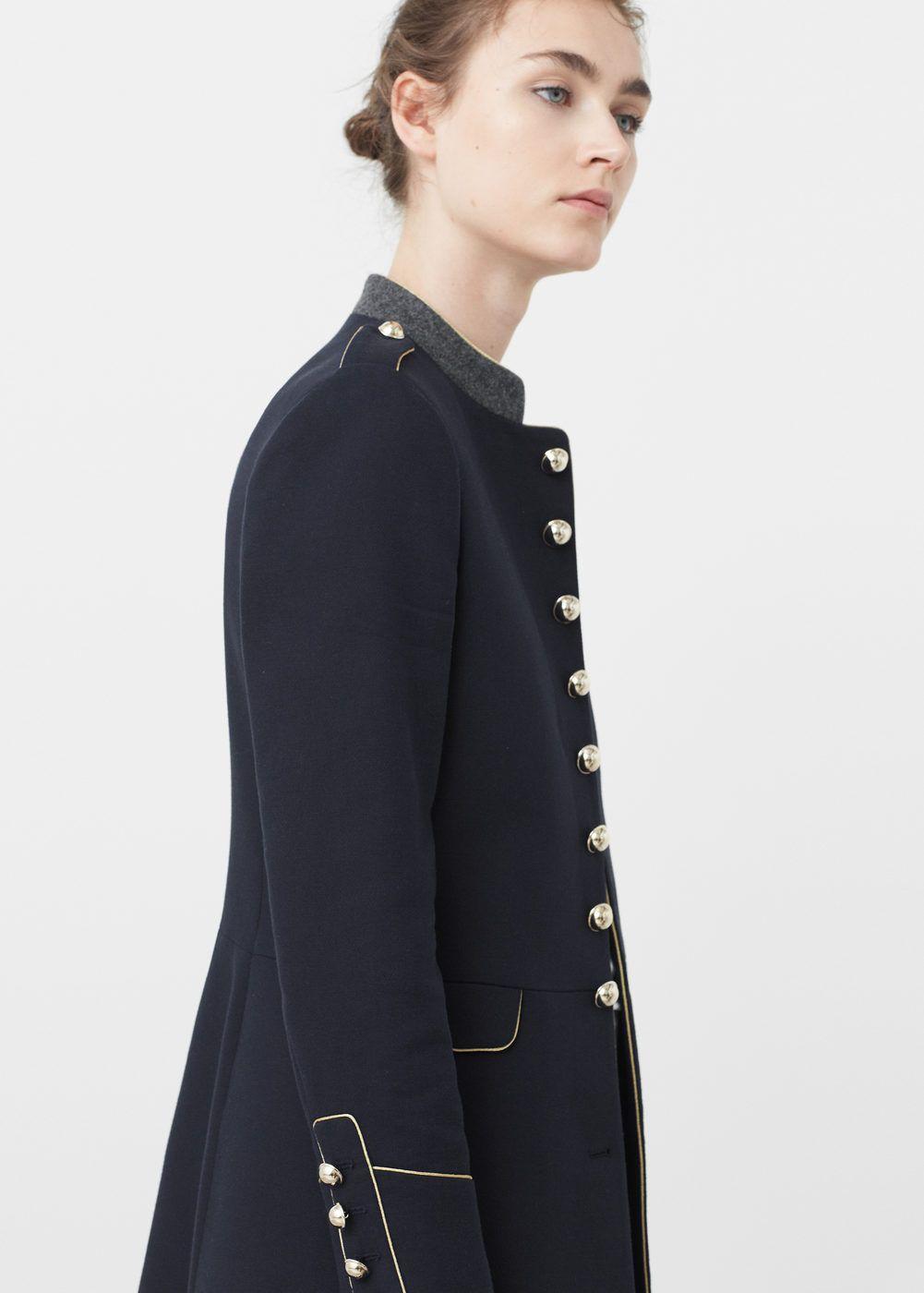 Abrigo Mujer 2019 Femme Militar Estilo Style En TZwT7U
