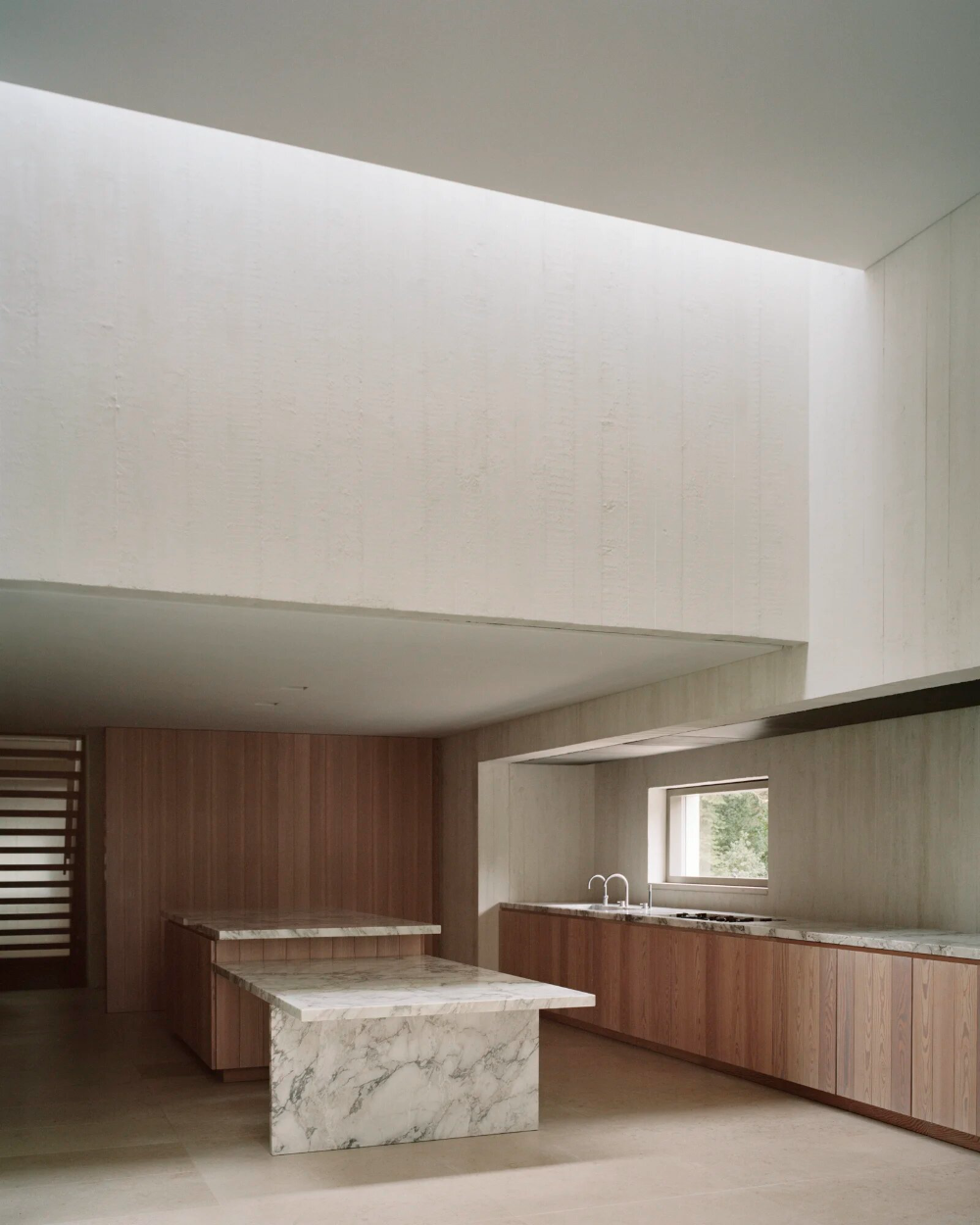 Concrete Home With Garden In Waalre By Russell Jones Architecture Design Visual Russell Jones Concrete Home Villa