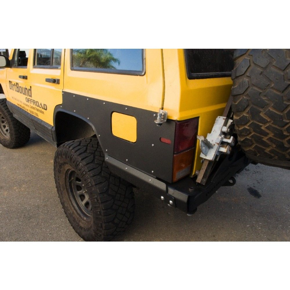 Rear Quarter Panel Armor Tail Light Guard Jeep Cherokee Xj
