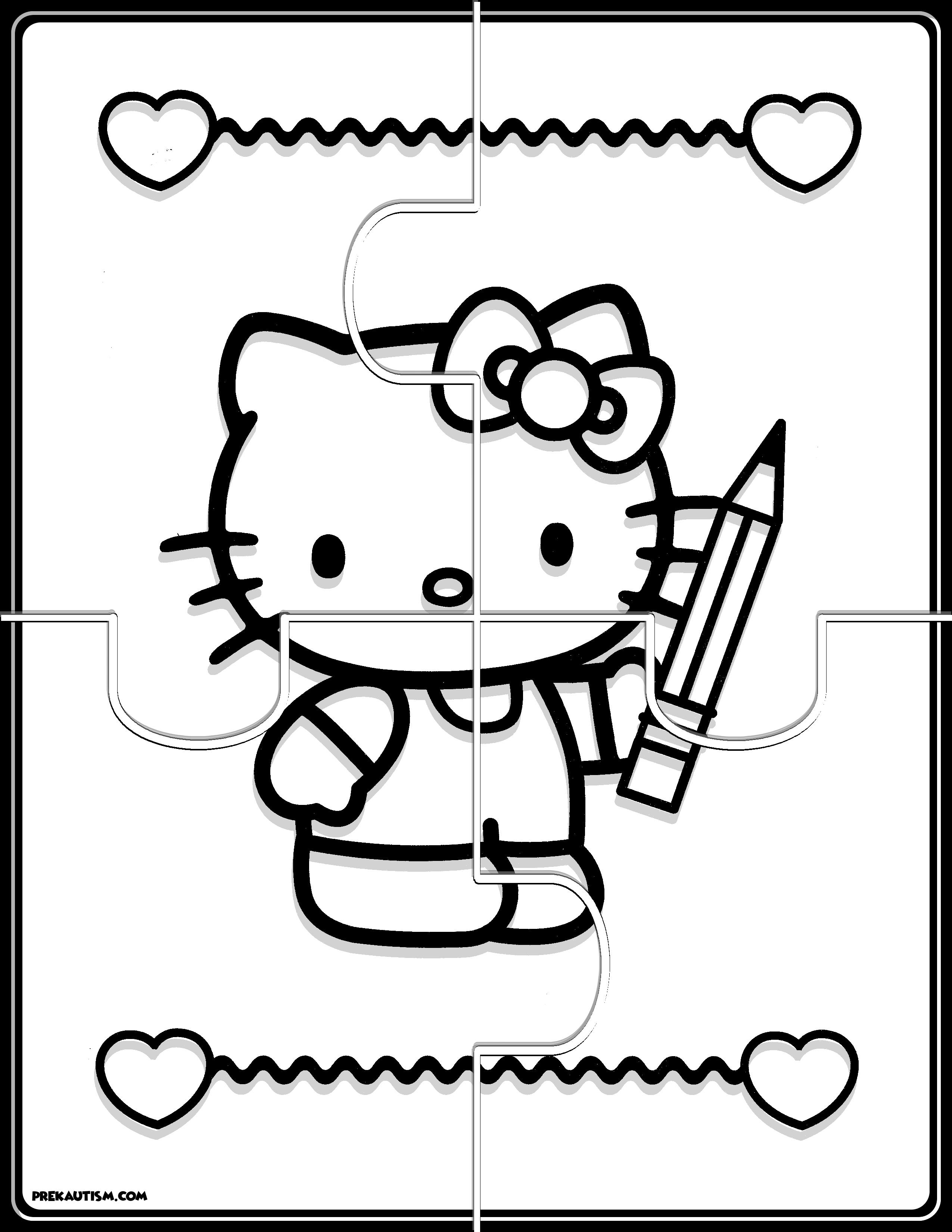 Free Hello Kitty Puzzles
