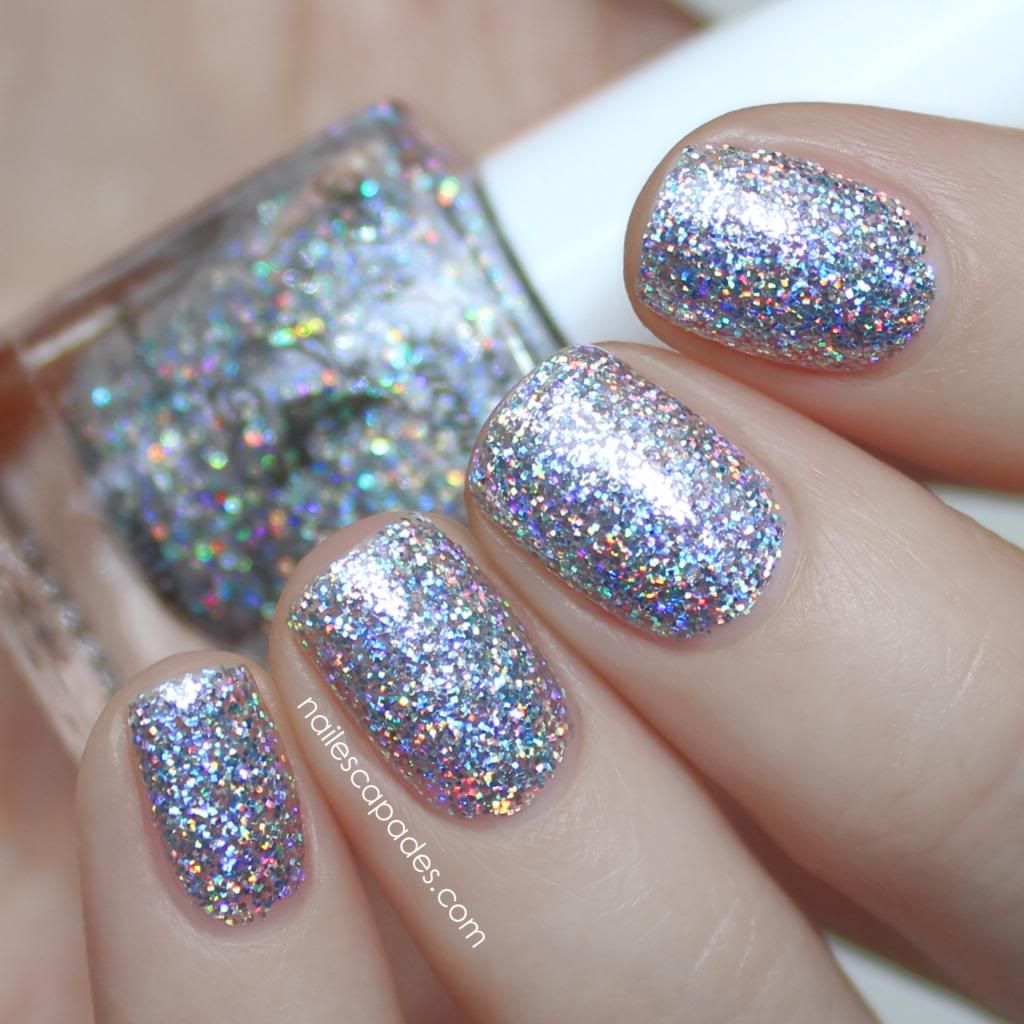 fun lacquer 24k diamond in regular and holo Nail Escapades: May 2014 ...