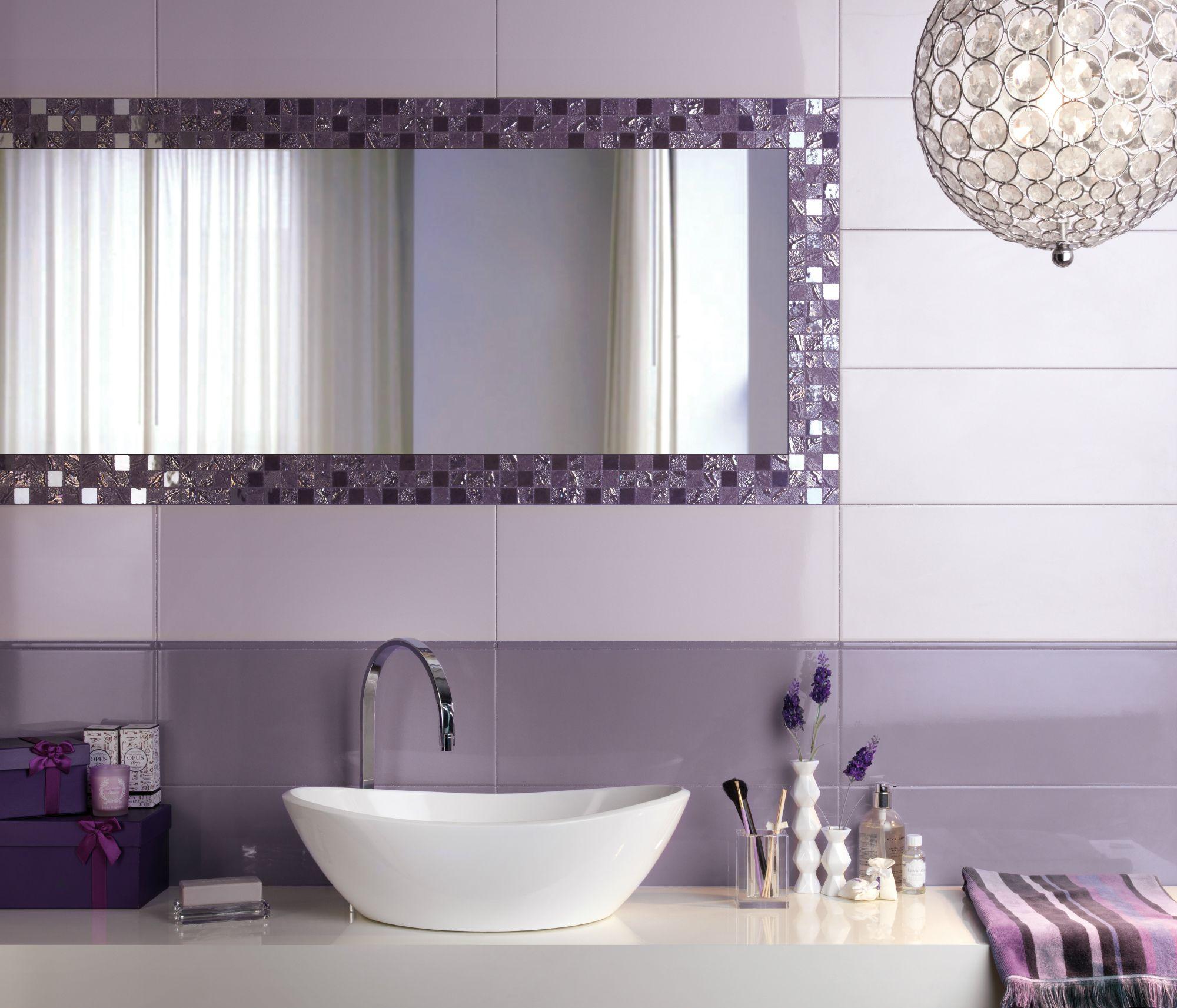 Four Seasons The Surface Within Tile Bathroom Purple Bathrooms Mosaic Bathroom Tile