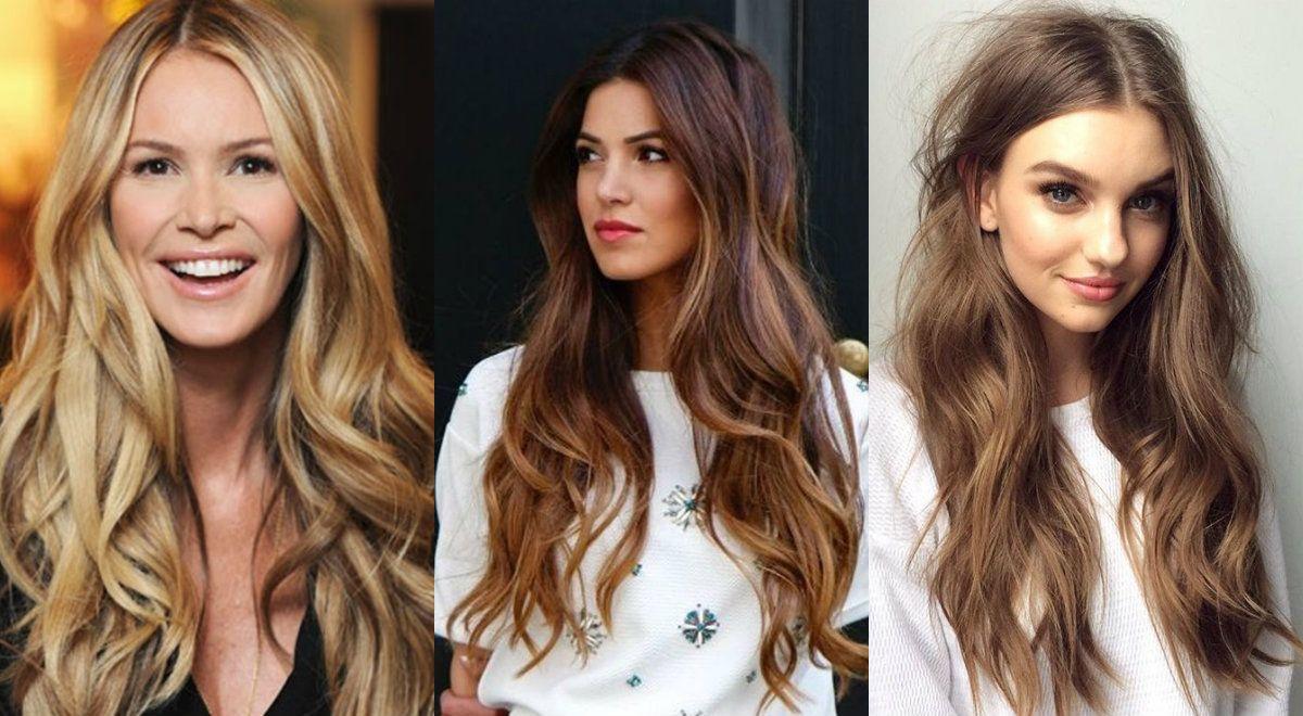Attraktiv Haartrends 2017 Farbe Das Beste Von Wunderschöne Lange Gewellte Frisuren Für Jeden Anlass