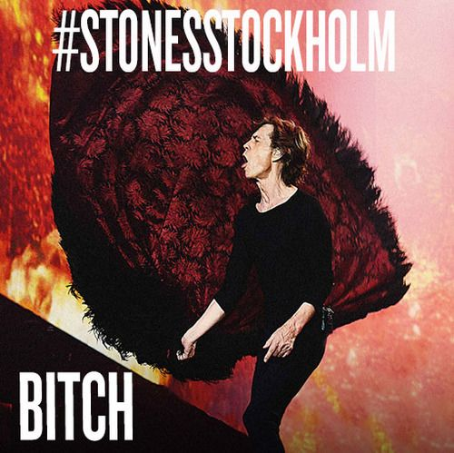 Favourite for the Rolling Stones to play BITCH tonight in