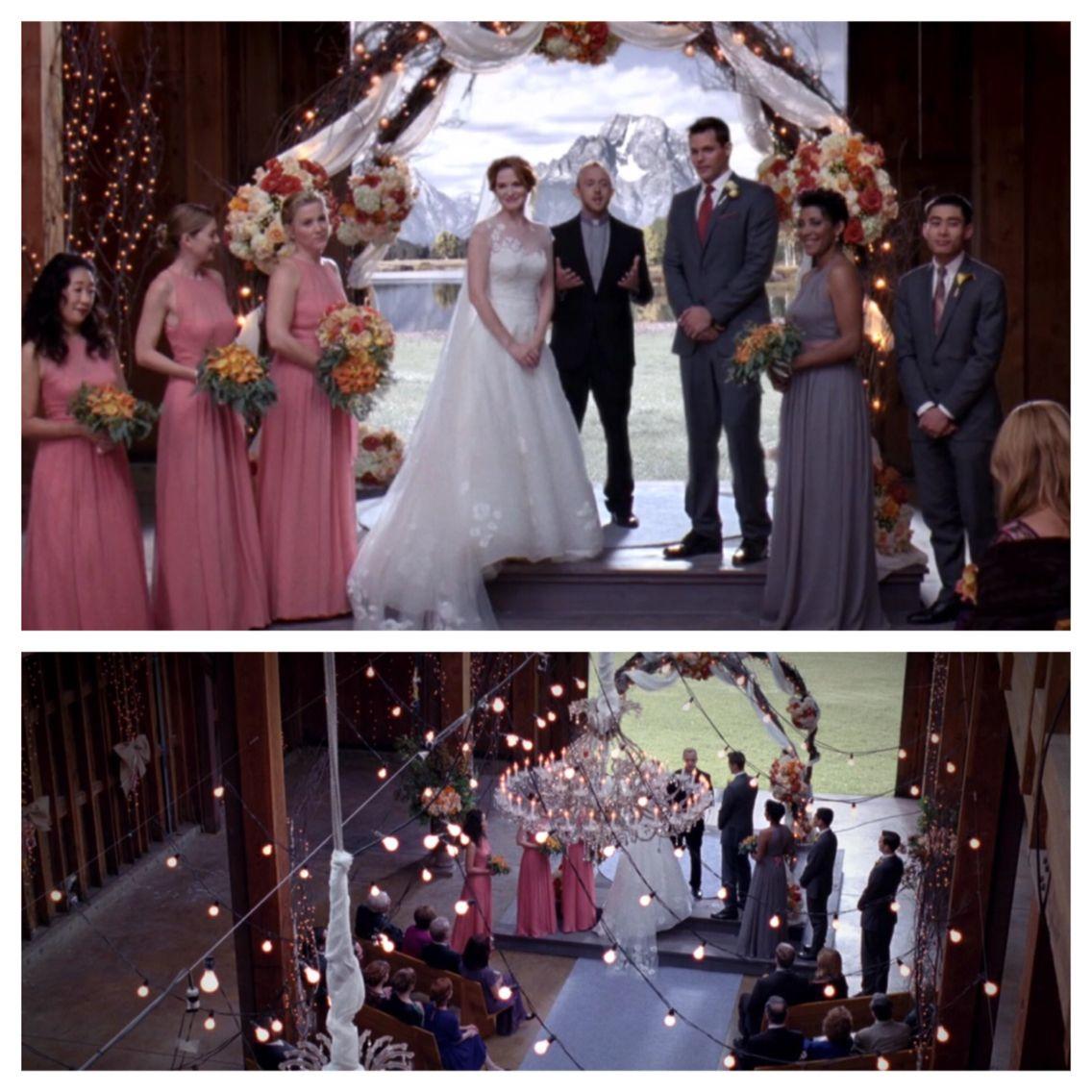 Greys Anatomy April Kepner S Wedding Wedding Movies