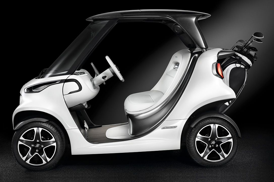 Bring Your Luxury Ride With You Onto The Links With The Mercedes Benz Golf Cart Golf Car Golf Carts Best Golf Cart