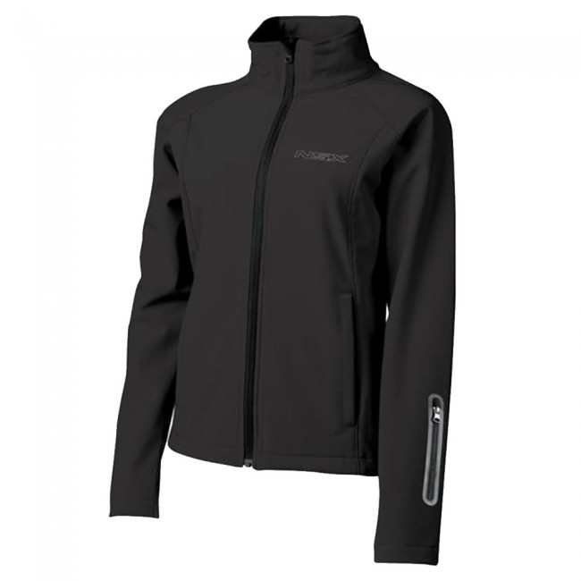 Ladies Performance Softshell Jacket With Bonded Fleece