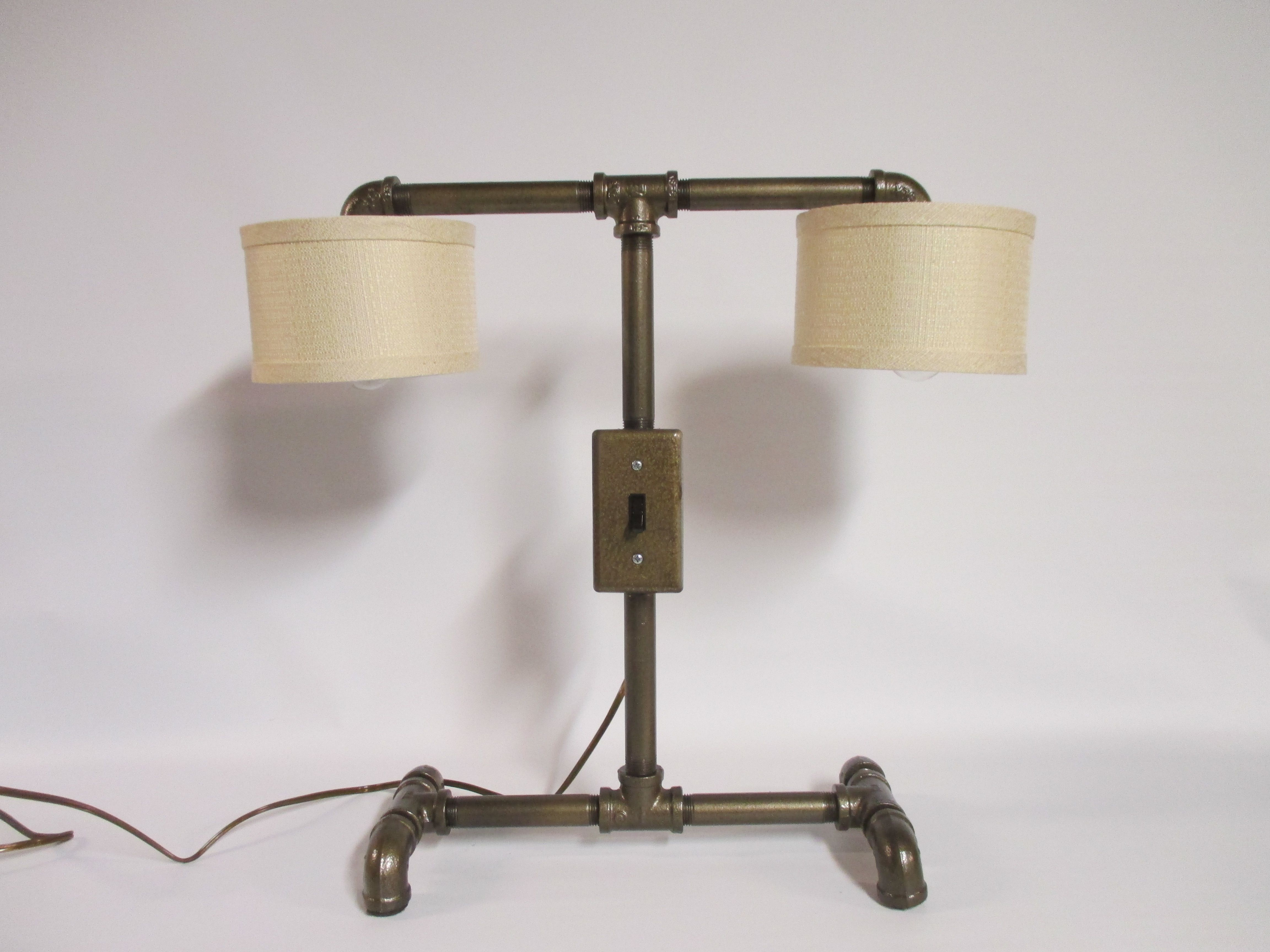 style vintage iron lamp listing fullxfull pipe il zoom black desk industrial