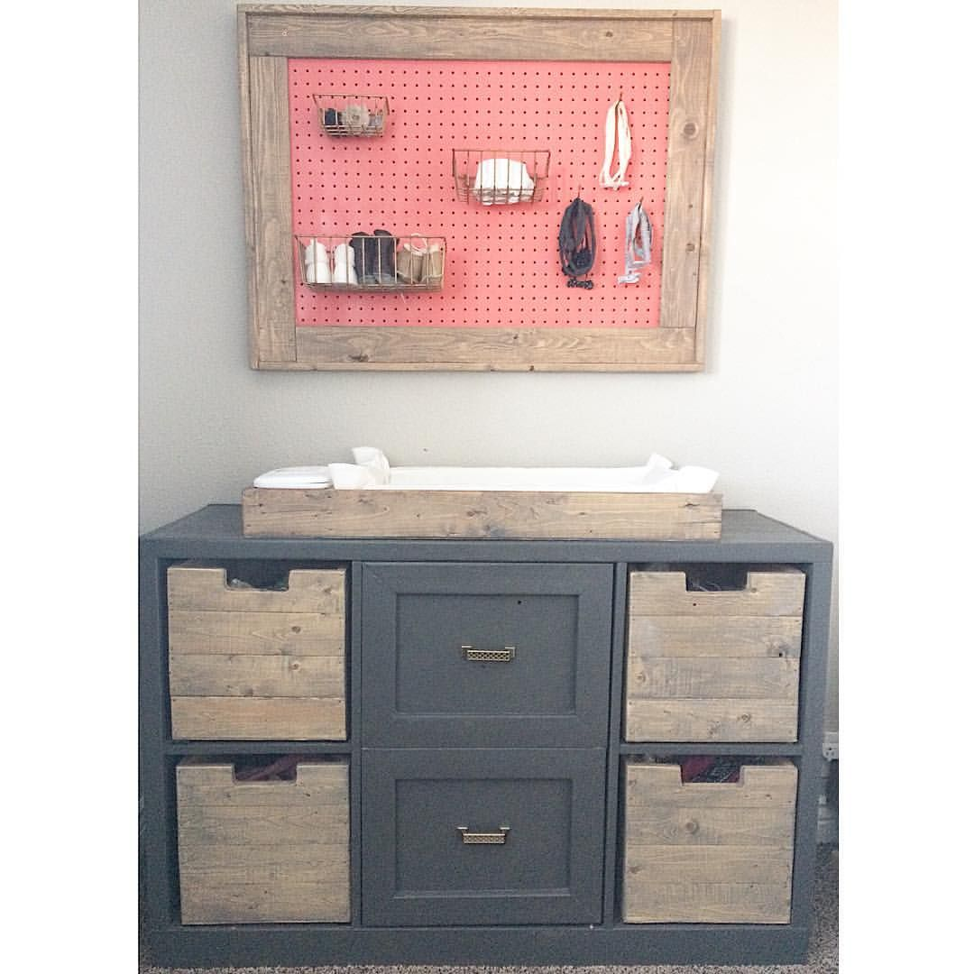 Free plans Nursery changing table dresser @hardyhomereno | Nursery ...