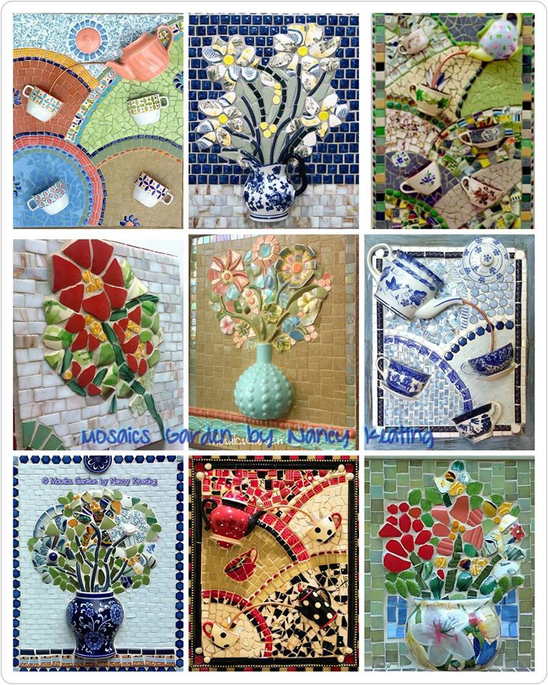 Mosaic By Nancy Keating #art #mosaic