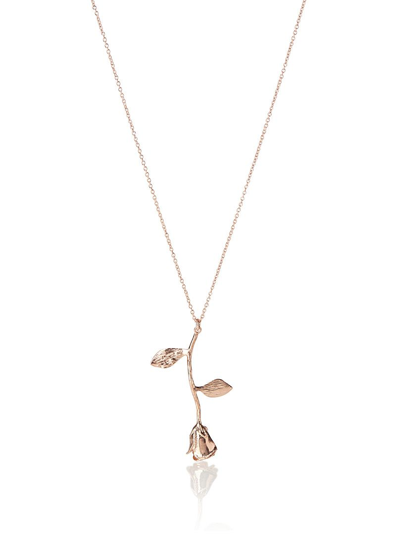 Le Collier Fleur Or Rose Simons Jewelry I D Wear In 2018