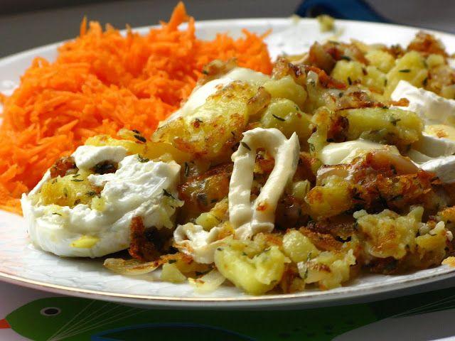 Gourmandises végétariennes: Brägele provençal (oder: Mediterrane Bratkartoffeln)