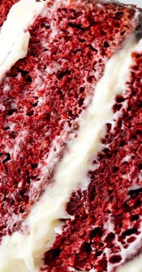 The Most Amazing Red Velvet Cake Recipe #redvelvetcake