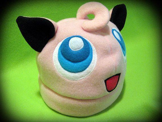 Jigglypuff fleece hat   Pokemon   Pinterest   Mütze und Schnittmuster