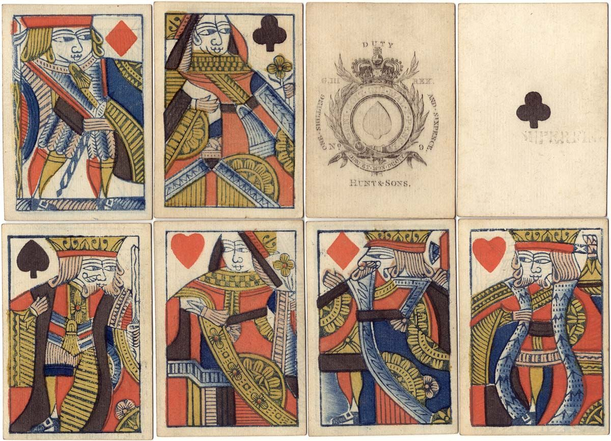 Hunt & Sons, 1821-1840 - The World of Playing Cards