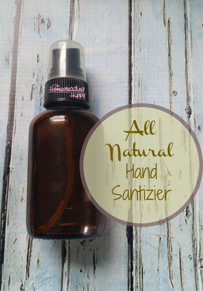 Diy Natural Hand Sanitizer Spray Alcohol Free Natural Hand