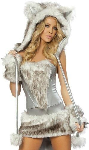 A Sexy Wolf Costume For Women costumes Pinterest Wolf costume - angel halloween costume ideas