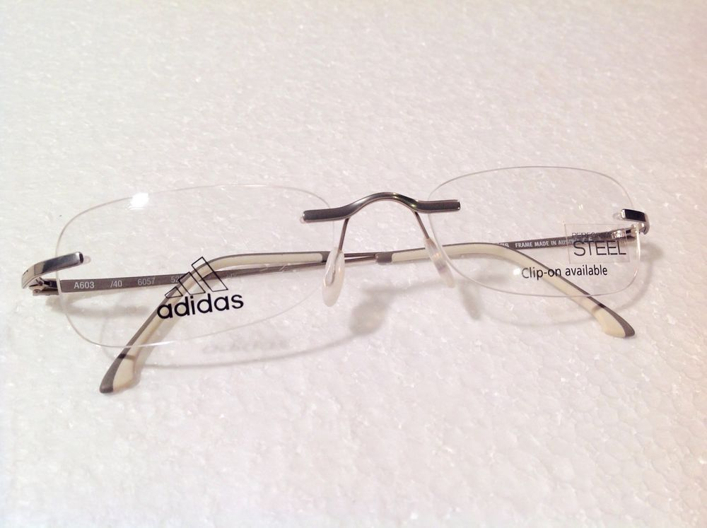 New Rimless Adidas 603 Eyeglasses Frames For A Steal! DESIGNER ...