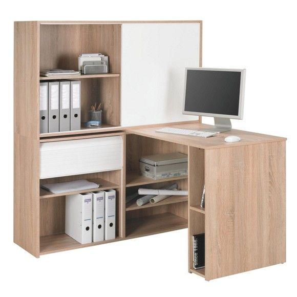 Diese Schreibtischkombination bietet umfangreichen ...
