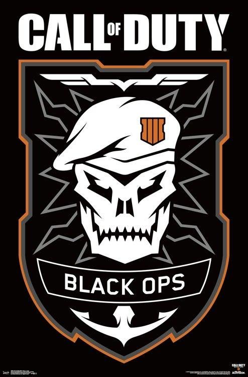Call Of Duty Black Ops 4 Logo Fondos De Pantalla De Juegos Logo Del Juego Fondo De Juego