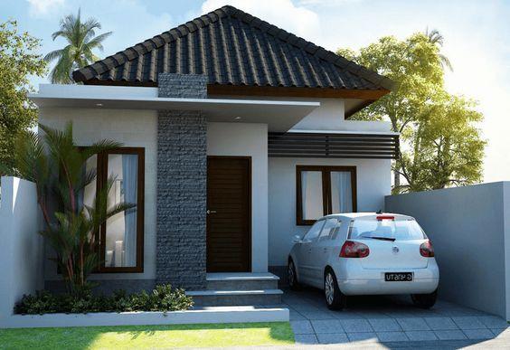 Contoh Rumah Minimalis Modern Type 36 45 70 Terbaru Fasad In 2018